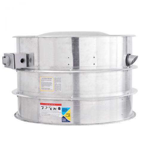 Belt Drive Centrifugal Upblast Hurricane Exhaust Fan 2250 CFM, 1823 RPM, 1PH