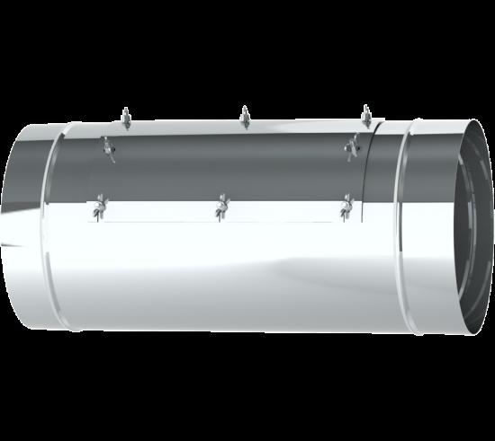 """18"""" Diameter Grease Duct Inline Access Door Length"""